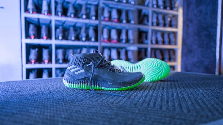 57b0d77fd620 Adidas America Inc. releases Damian Lillard s Dame 4 in a colorway ...
