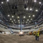 See the Milwaukee Bucks arena with construction 68% complete: Slideshow