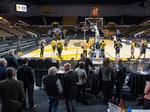 40 Under 40 alumni hang out with UWM men's basketball team: Slideshow