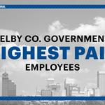 Ranked: The highest-paid Shelby County employees