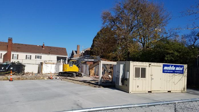Construction starts on prominent Clintonville corner, but its tenant is a mystery