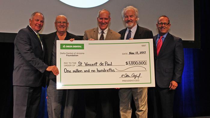 Delta Dental Foundation donates $1 million to St. Vincent de Paul Dental Clinic