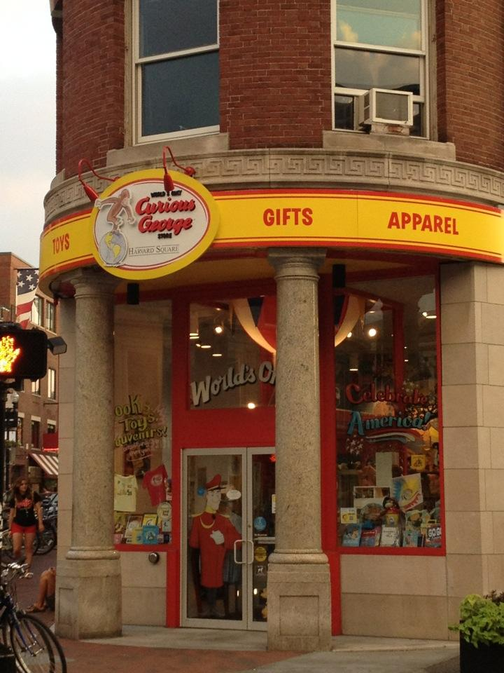 d0f5848e6 The longtime owner of Harvard Square's Curious George store is selling the  brick-and-