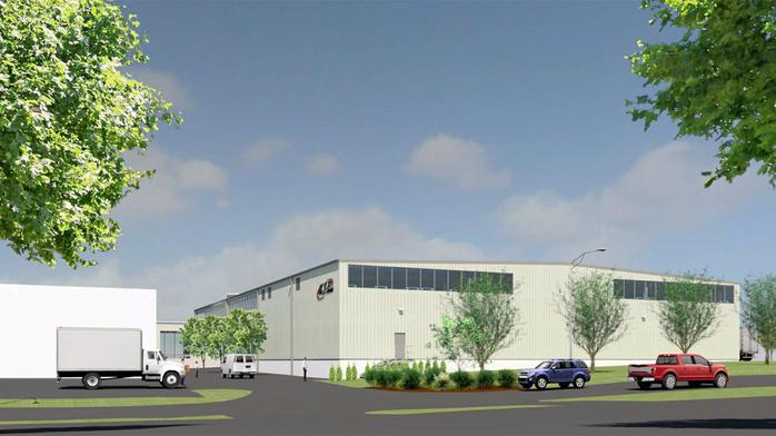 McGrath to design, build $5 million U.S. Paint warehouse
