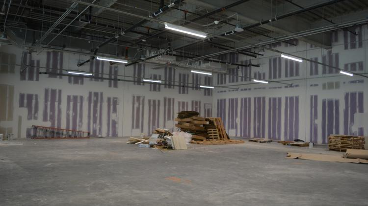 Where the Brightline team will have its temporary offices while building out the connection and laying the tracks