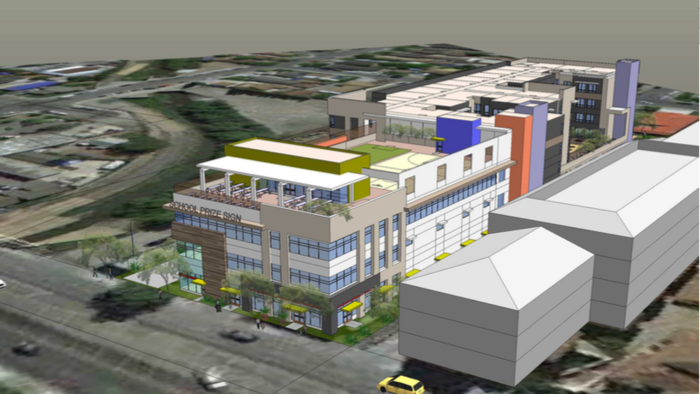 Exclusive: Developer proposes project with charter school, affordable housing for San Jose 'urban village'