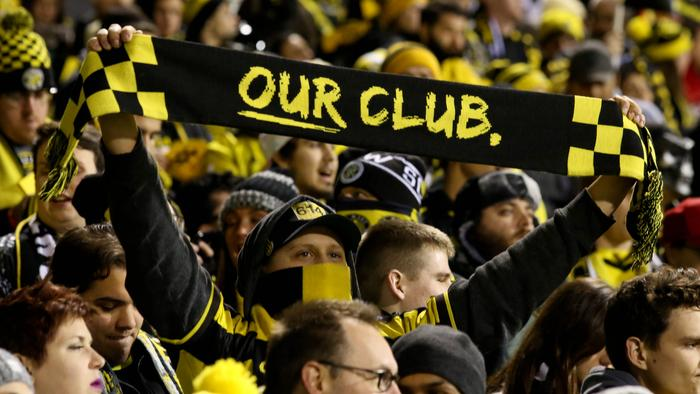 Columbus Crew SC hosted Toronto FC in the first leg of the Eastern Conference Championship at Mapfre Stadium on Nov. 21. Signs of support for the #SavetheCrew movement were abundant.