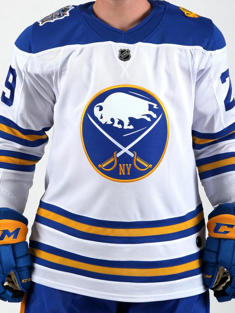 524672ac147 Sabres unveil 'Winter Classic' jersey - Buffalo Business First