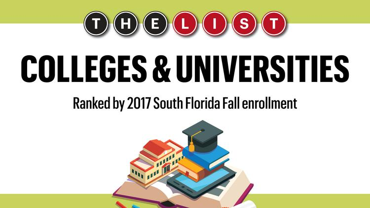 Colleges In South Florida >> The List South Florida S Top Colleges Universities Of