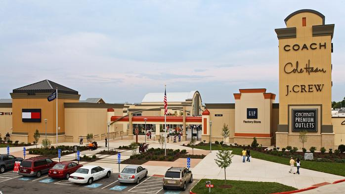 Cincinnati Premium Outlets adding 2 stores, including new-to-region retailer