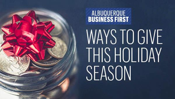 Here's how you can give back locally this holiday season
