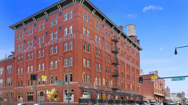 Rare Opportunity to Combine 2 Penthouse Historic Lofts