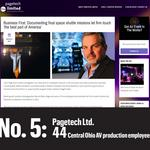 Top of the List: Central Ohio's largest audiovisual production companies
