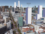 Build, Vanke aim for 35-story residential tower on Mid-Market parking lot in San Francisco