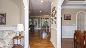Beautiful Full Brick Custom Built home on Large Wooded Cul-de-sac Lot