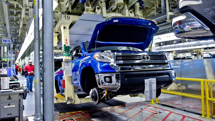 san antonio and toyota motor corp. benefiting from tacoma demand as