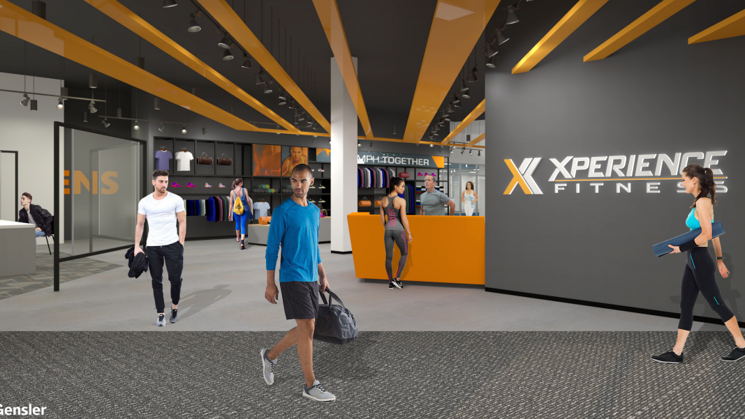 Xperience fitness adding gyms in some former gordmans for Gimnasio xperience