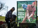 Lumberjacks help Duluth Trading Company introduce Waukesha store: Slideshow