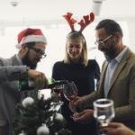 Holiday party <strong>small</strong> talk that gets people talking