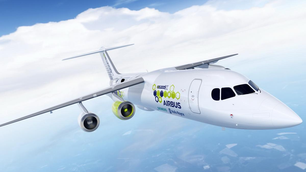 Boeing Backed Zunum Aero Faces Electric Airplane Rival Produced By Airbus Rolls Royce And Siemens