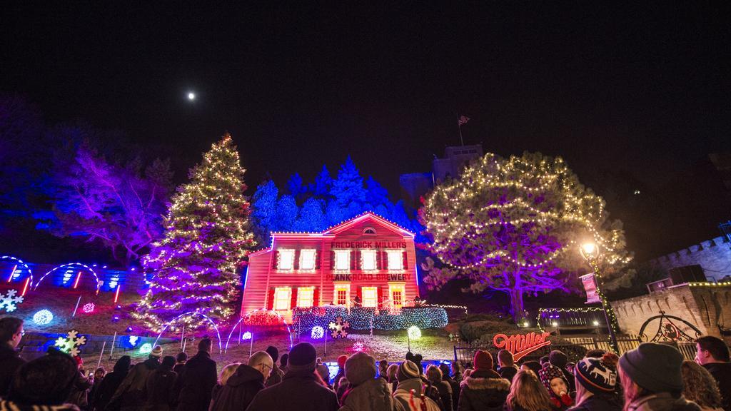 MillerCoors' 'Holiday Lites' lights up Miller Valley: Slideshow - Milwaukee  Business Journal - MillerCoors' 'Holiday Lites' Lights Up Miller Valley: Slideshow
