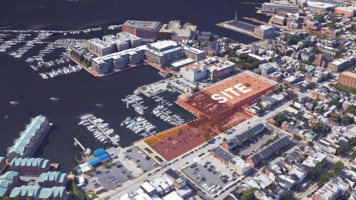 Fells Point waterfront apartment, townhome project gets preliminary approval