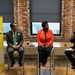 Felicia <strong>Moore</strong> and Alex Wan promise a more independent Atlanta City Council if they win