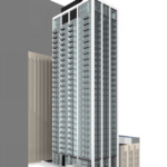 Slender 40-story apartment tower planned near the heart of Minneapolis