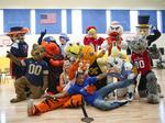 PHOTOS: ACC mascots visit Charlotte elementary school