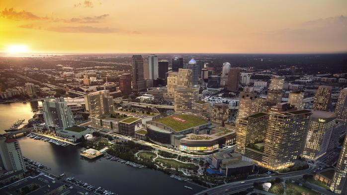 Water Street Tampa switches up general contractors for first phase of development
