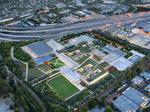 Microsoft digs in on Mountain View campus, touts smart, green design