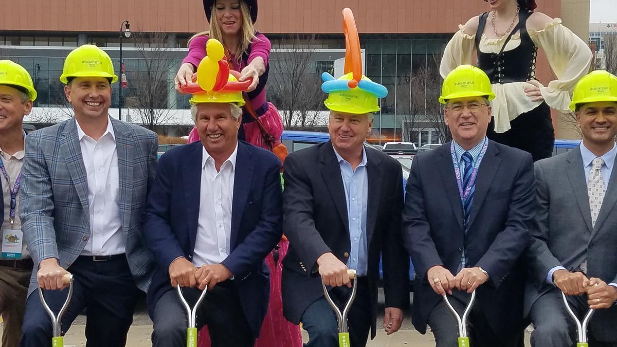 Construction of $82M Jimmy Buffett-inspired Margaritaville