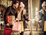 Shoppers splurge - on themselves