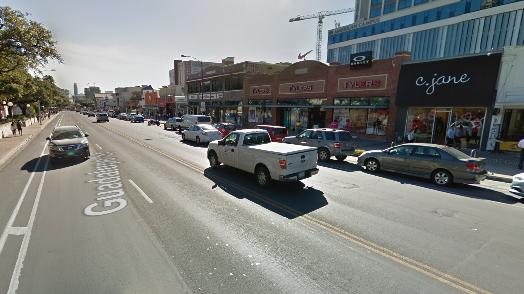 Austin\'s plan for Guadalupe Street: Fewer car lanes, more room for ...