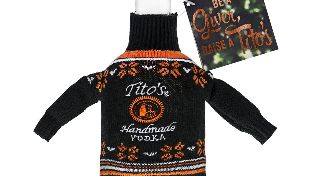 Titos vodka sweater