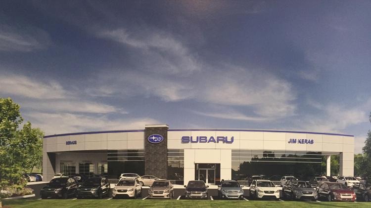 A second Jim Keras Subaru location is on its way to Memphis