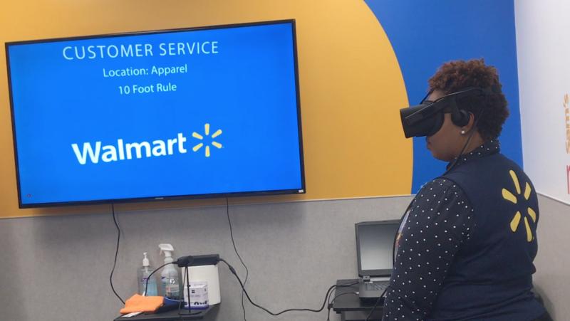 Wal-Mart using virtual reality to prepare for holiaday rush