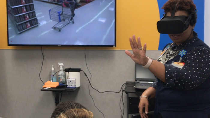 How Walmart is using VR tech to prepare for the holiday retail rush
