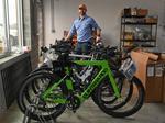 How I keep bike wheels turning