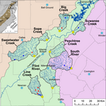 Georgia State study finds connection between development and stream flow