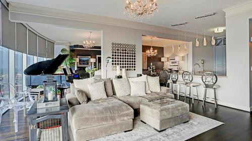 Elegant and Sophisticated High-Rise Living in the Heart of Houston's Prestigious River Oaks