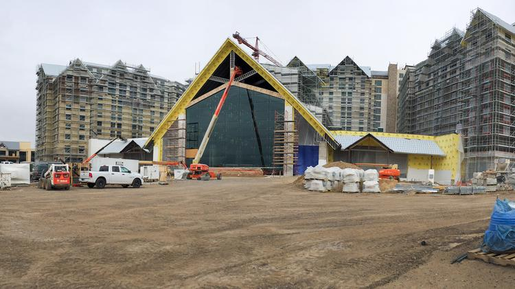 The Gaylord Rockies Resort & Convention Center in Aurora is scheduled to open in late 2018.