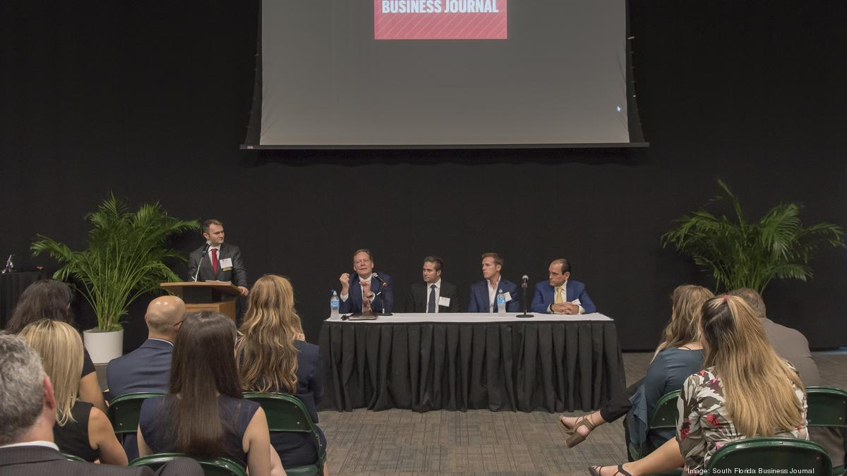 Gables Of St Morris breaking ground coral gables panel with w. allen moris