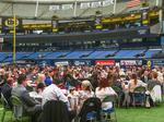 On the turf for TBBJ's 2017 Corporate Philanthropy Awards at Tropicana Field (Photos)