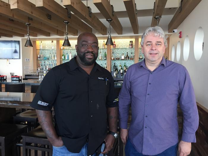 What happens when a celebrity chef and a massive Jax Beach building come together