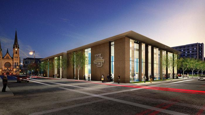 Marquette revamps athletic research center plans