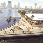 Here are the two options for a restaurant on St. Pete's new pier (Renderings)