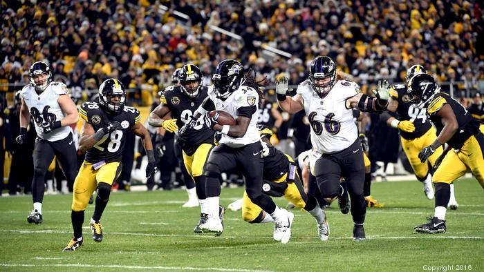 Ravens-Steelers ratings down from Week 14 'Sunday Night Football' game last year