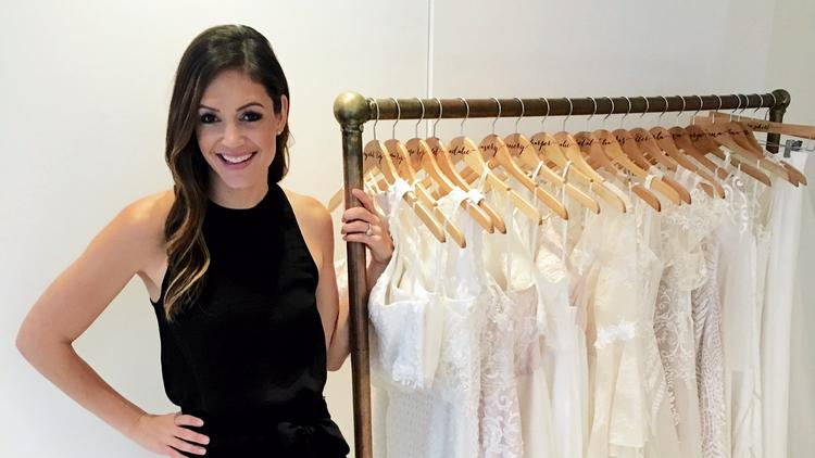 Bachelorette star Desiree Hartsock launches wedding gown business ...