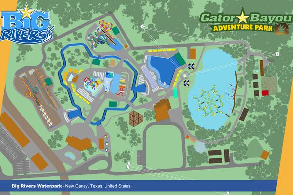 Grand Texas to open Big Rivers Waterpark, Gator Bayou